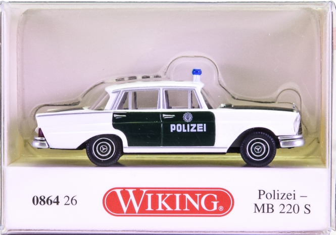 Wiking 086426 (1:87) – Mercedes-Benz 220S Polizei