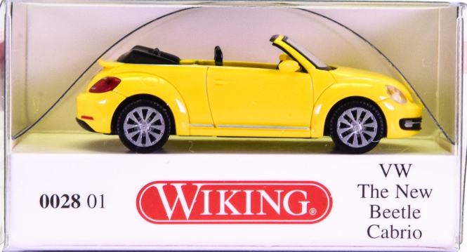 Wiking 002801 (1:87) – VW The New Beetle Cabrio