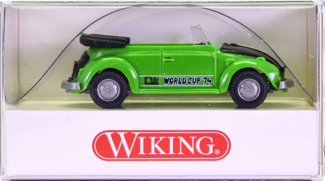Wiking 08020725 (1:87) – VW Käfer Cabrio WM 74