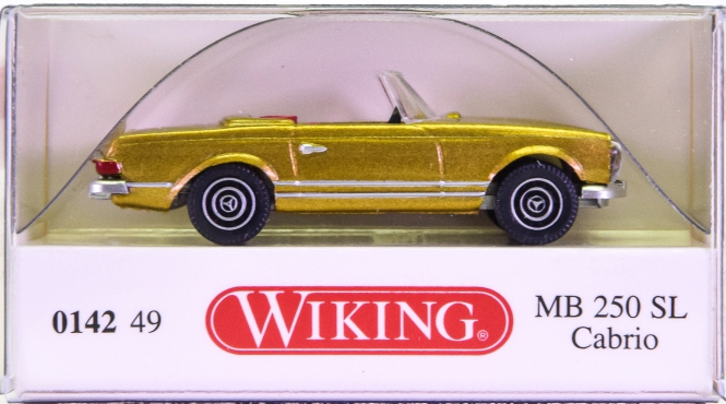 Wiking 014249 (1:87) – Mercedes-Benz 250 SL Cabrio