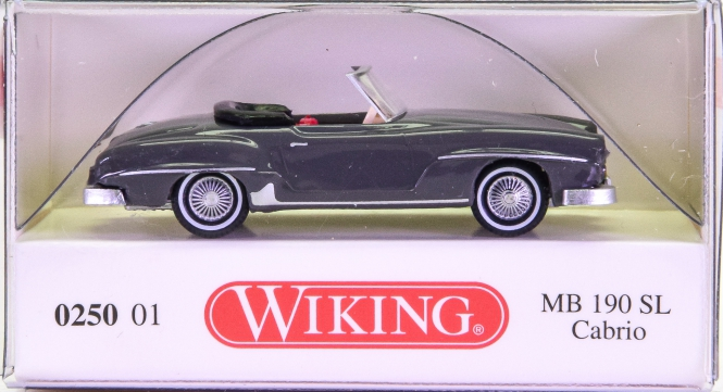 Wiking 025001 (1:87) – Mercedes-Benz 190 SL Cabrio