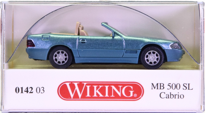 Wiking 014203 (1:87) – Mercedes-Benz 500 SL Cabrio