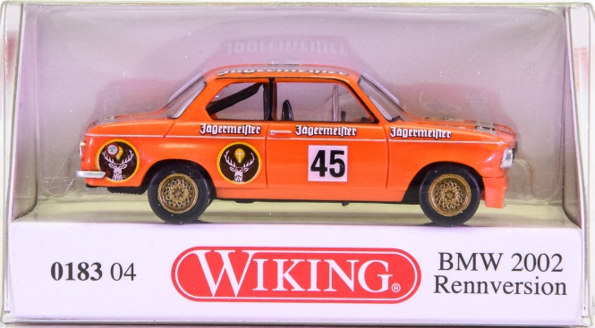 Wiking 018304 (1:87) – BMW 2002 Rennversion