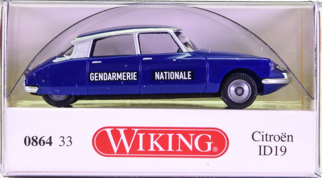 Wiking 086433 (1:87) – Citroen ID 19 Gendamerie