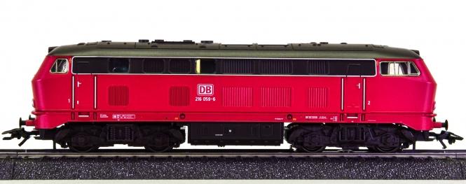 Märklin 36216 – Mehrzweck-Diesellok BR 216 -Lollo- der DB, digital (MM)