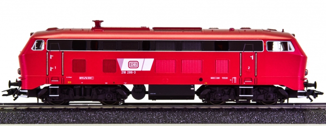 Märklin 37218 – Mehrzweck-Diesellok BR 218 der DB, mfx & Sound