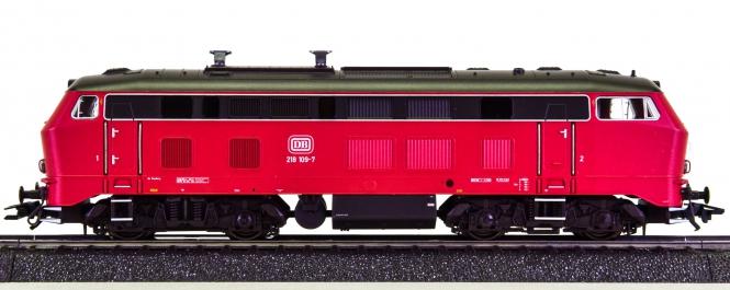 Märklin 37745 – Mehrzweck-Diesellok BR 218 der DB, mfx & Sound
