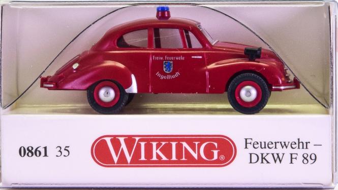 Wiking 086135 (1:87) – DKW F 89 Feuerwehr Ingolstadt