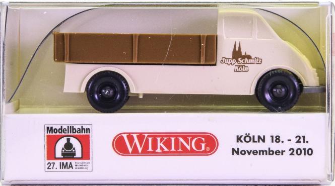 Wiking 036053 (1:87) – DKW Schnelllastpritsche -Jupp Schmitz, Köln-