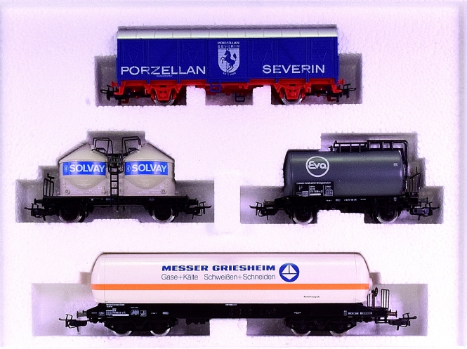 Märklin 4793 – Regional-Güterwagen-Set West
