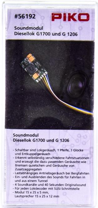 Piko 56192 – Soundmodul / Soundkit für Diesellok Am843 / G 1700 BB