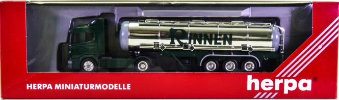 Herpa 145817 (1:87) – Scania 124 SZ -Rinnen Tanklastwagen-