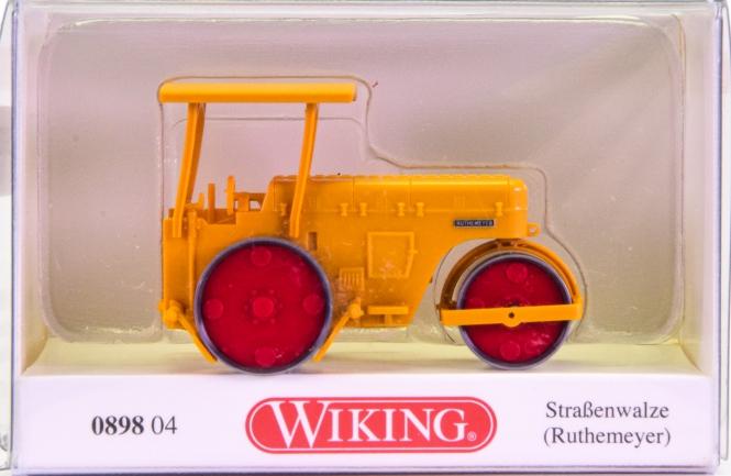 Wiking 089804 (1:87) – Ruthemeier Straßenwalze
