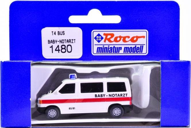 Roco 1480 (1:87) – VW T4 Bus Baby Notarzt