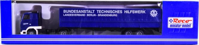Roco 1636 (1:87) – Volvo Pritschensattelzug FH 12 THW