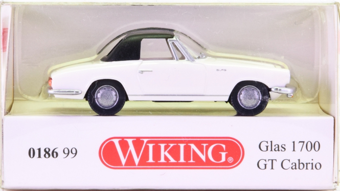 Wiking 018699 (1:87) – Glas 1700 GT Cabrio