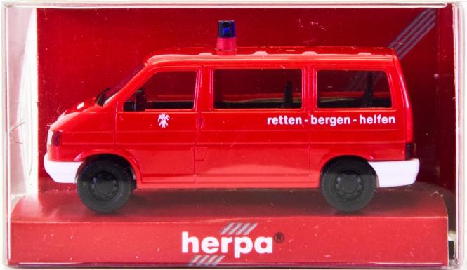 Herpa 041904 (1:87) – VW T4 Caravelle Feuerwehr