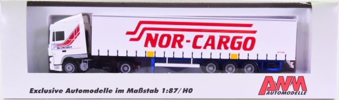 AWM 53478 (1:87) – DAF XF 95 Koffer-Sattelzug -Blomquist Nor-Cargo-