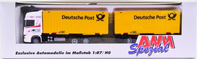 AWM 71012 (1:87) – Scania 6014 Topline -Deutsche Post-