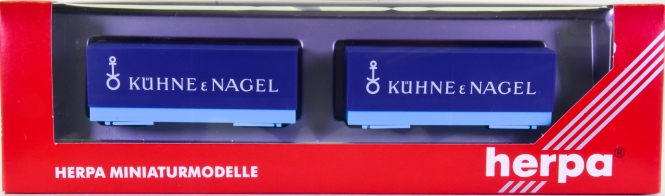 Herpa 051415 (1:87) – Wechselpritschen -Kühne &Nagel-