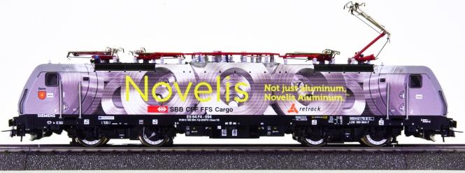 Roco 79627 (AC) - Elektrolokomotive BR 189 -Sierre- der MRCE, digital & Sound
