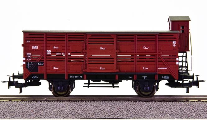 Fleischmann 5706 K – Kleinvieh-Verschlagwagen Vh der (D)DR