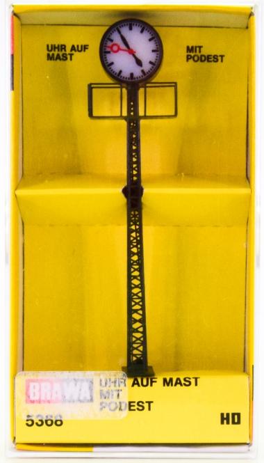 Brawa 5368 (H0) – Uhr auf Mast mit Podest