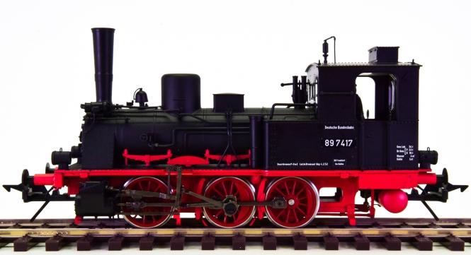 Lenz 40289-01 (Spur 0) – Dampflok BR 89 der DB, digital (DCC) + Sound + Telex
