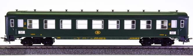 Märklin 00796-06 – 2. Klasse Schnellzug-Abteilwagen der SNCB