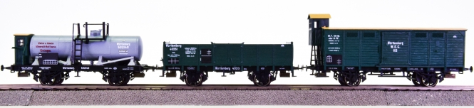 Trix 23534 (AC) – 3-teiliges Güterwagen-Set der K.W.ST.E.