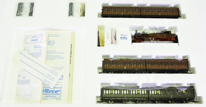 Roco 43026 – 7-teiliger Berliner Stadtbahn-Zug mit T12 der K.P.E.V.