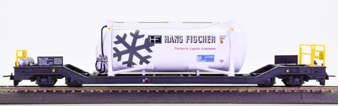 Bemo 2289 133 (H0m) – Containerwagen Sb-v -Hans Fischer- der RhB