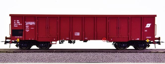 Roco 47210 – Hochbordwagen Eaos der ÖBB