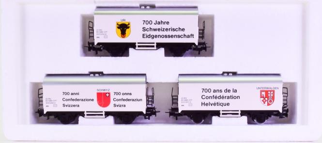 Märklin 84429 - Kühlwagen-Set -700 Jahre Schweizerische Eidgenossenschaft-