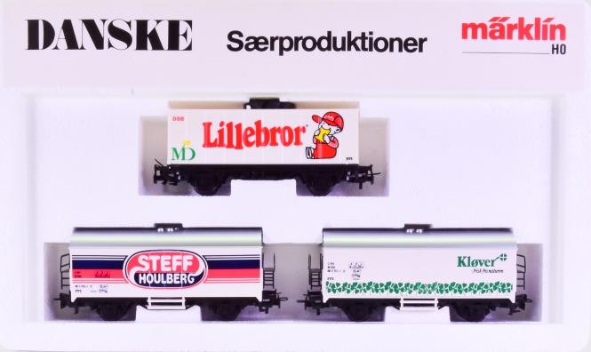 Märklin 844212 – 3-teiliges Güterwagenwagen-Set -DANSKE Saerproduktioner-