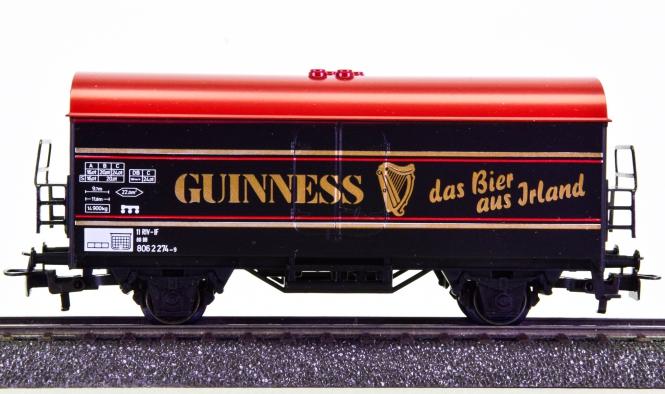 Märklin 84416 – Bierwagen -Guinness, das Bier aus Irland-