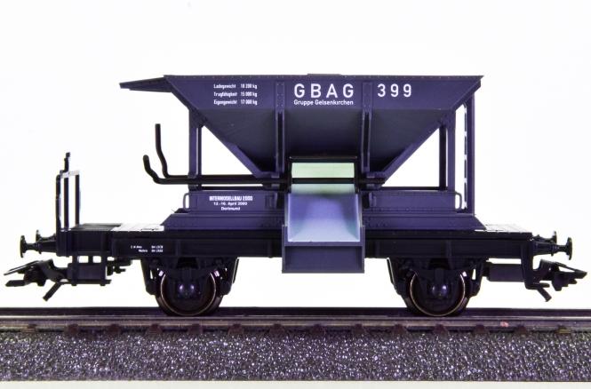 Märklin 48600 – Schotterwagen der GBAG, Intermodellbau 2000