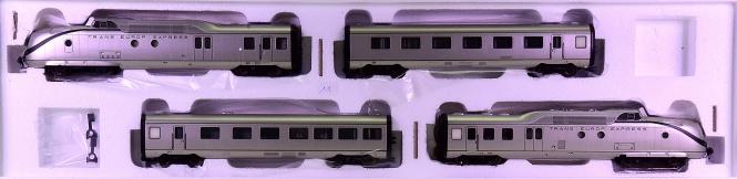 Märklin 37609 – 4-tlg. Diesel-Schnelltriebzug VT 11.5 -TEE- der DB, digital & Sound
