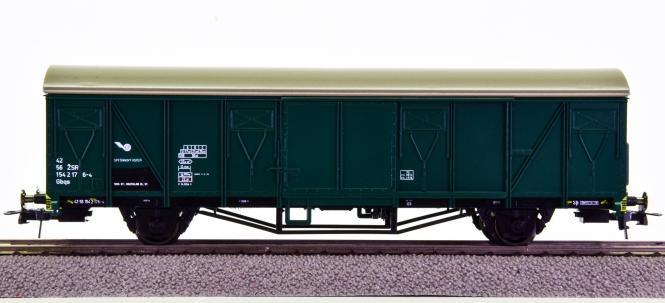 Roco 48061 – Gedeckter Güterwagen Gbqs der ZSR