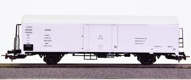 Roco 47056 – Interfrigo-Kühlwagen Ibbehs der CH-OZE