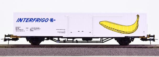 Roco 46880 – Kühlwagen der Interfrigo, eingestellt bei der DB AG