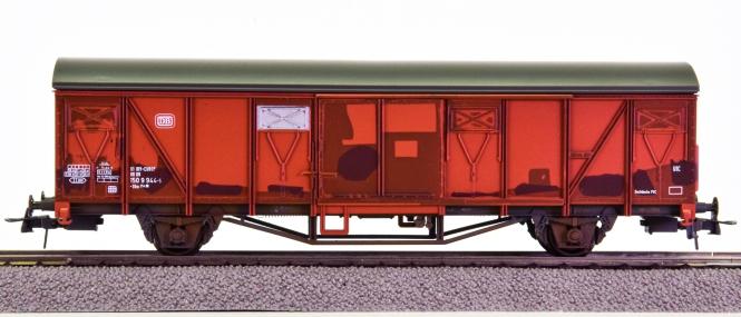 Roco 46759 – Gedeckter Güterwagen Gbs 254 der DB, patiniert
