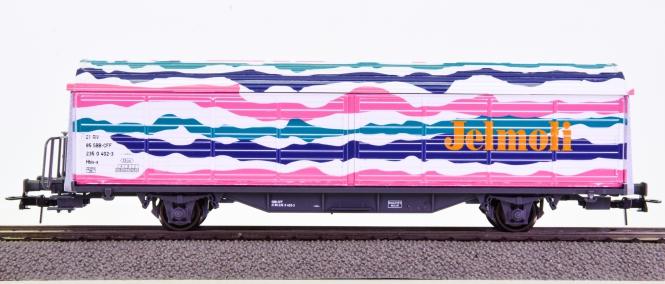 Roco 46593 – Schiebewandwagen Hbis-x -Jelmoli- der SBB
