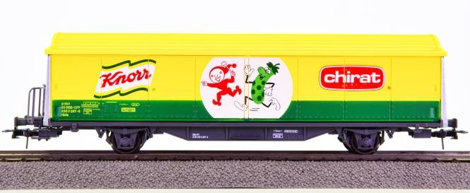 Roco 46591 – Schiebewandwagen Hbils -Knorr chirat- der SBB