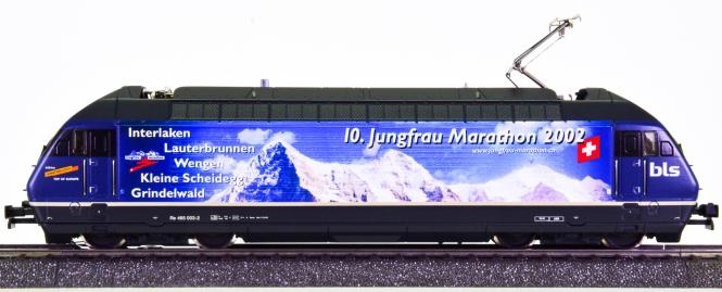 HAG 184 (AC) – Elektrolok Re 4/4 -10. Jungfrau Marathon 2002- der BLS