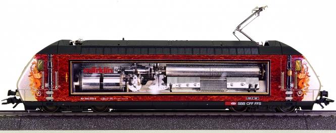 Märklin 39601 – Mehrzweck-Elektrolok BR 460 (Re 4/4) der SBB, digital (MM)