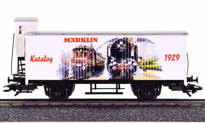 Märklin 4680.900 - Kühlwagen mit Bremserhaus, Katalogwagen 1929