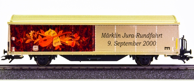 Märklin 4735 - Schiebewandwagen -Märklin Jura-Rundfahrt 2000-