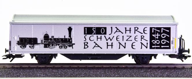 Märklin 4735.916 – Schiebewandwagen Hbils -150 Jahre Schweizer Bahnen-