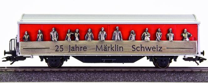 Märklin 4735.929 – Schiebewandwagen -25 Jahre Märklin Schweiz-